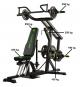 Tunturi WT80 Leverage Gym nosnost