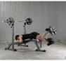 BH Fitness Optima Press Bench G330_cvik zákopy
